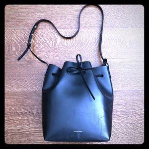 6f18abe034cd ... Mansur Gavriel Large Bucket Bag in Black ...